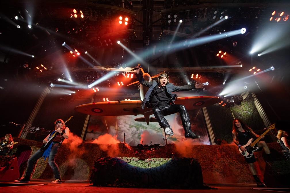 São Paulo é a cidade que mais ouve Iron Maiden no mundo, de acordo com Spotify