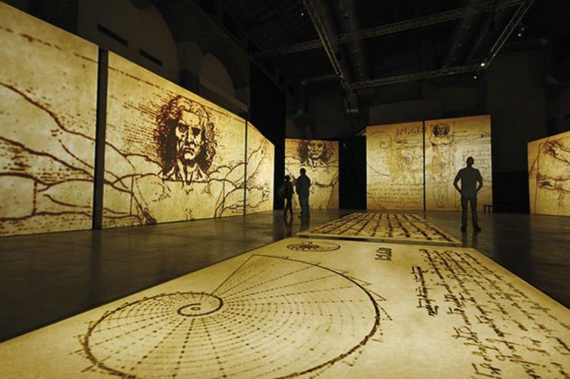 Últimas semanas da exposição interativa de Leonardo da Vinci