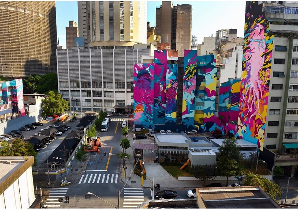 Aquário Urbano deve se tornar o maior grafite do mundo