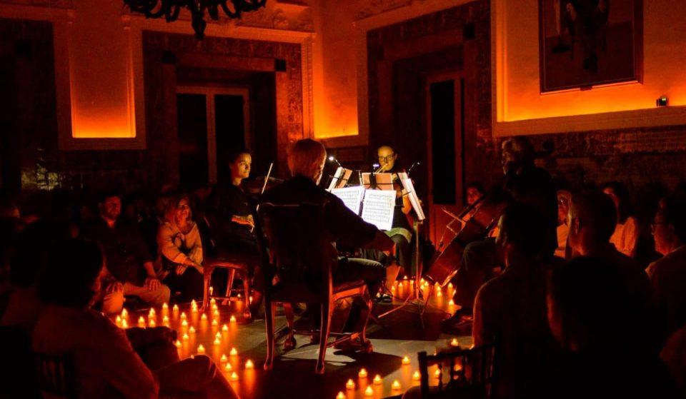 Quatro Estações de Vivaldi à luz das velas, no Auditório Ibirapuera