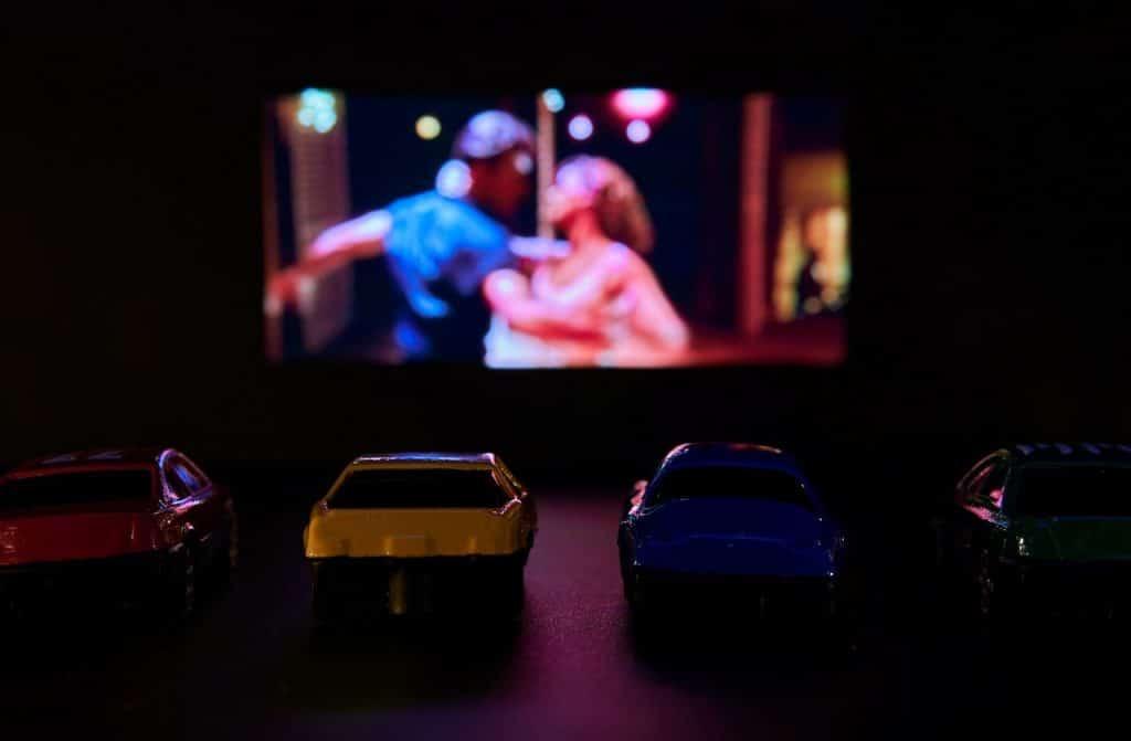 cinema drive-in em São Paulo