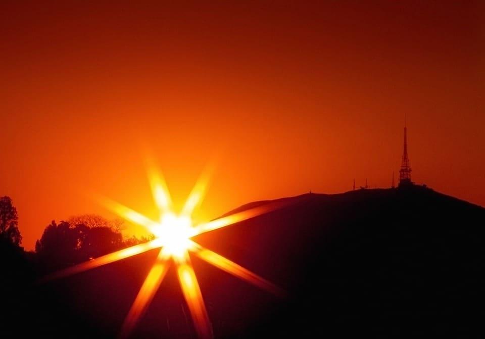 pico do jaragua por do sol sp