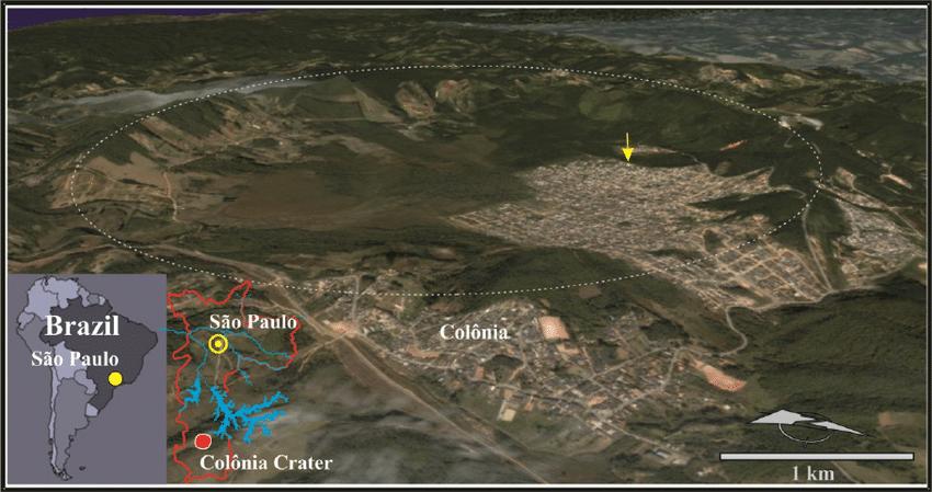 Cratera Colônia São Paulo