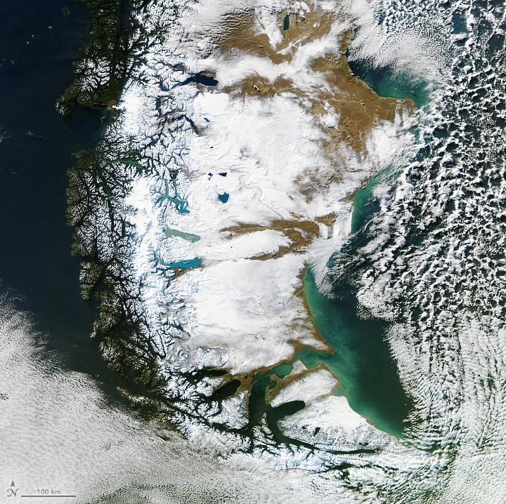 patagonia com gelo