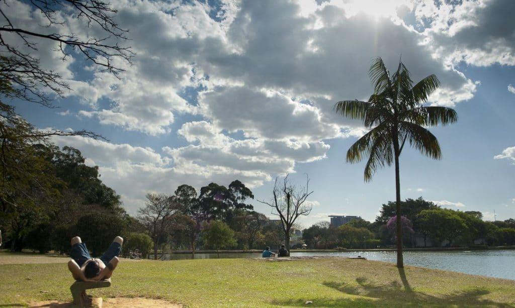 Parque do Ibirapuera em São Paulo.