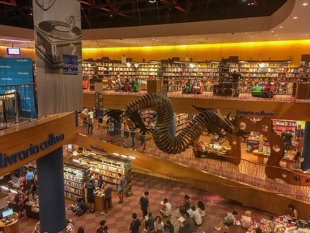 livraria cultura jardins