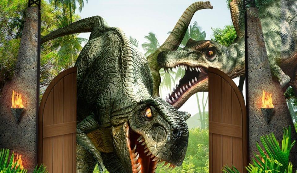 Dinossauros voltam a SP em experiência interativa
