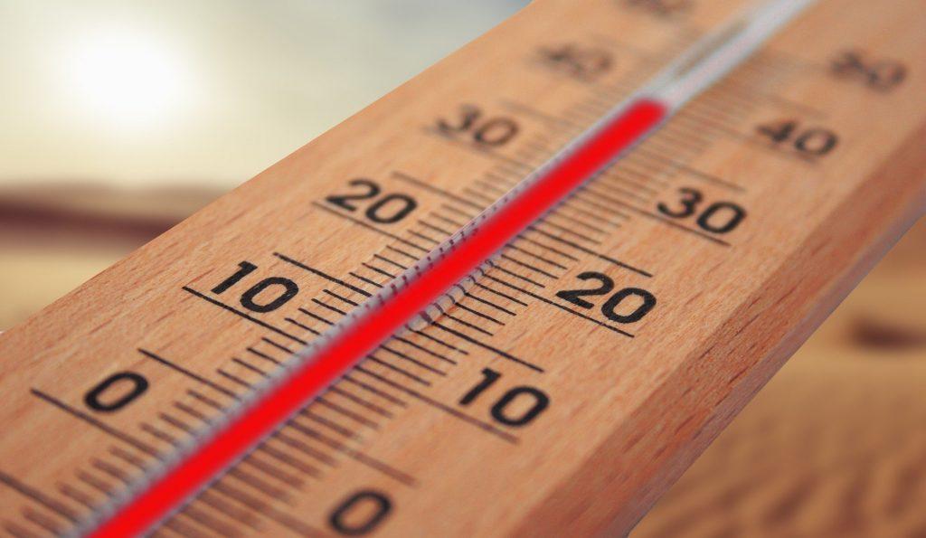 recorde temperatura