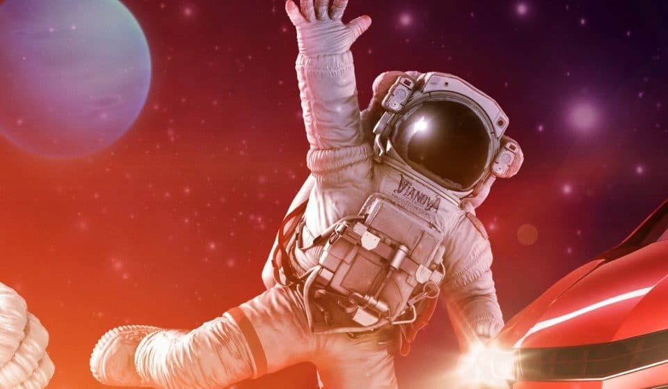 Espetáculo drive-in te leva numa viagem ao espaço