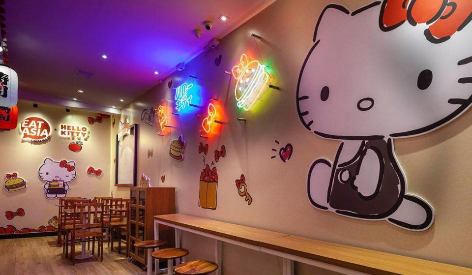 EAT Asia, o restaurante da Hello Kitty, vai reabrir em SP