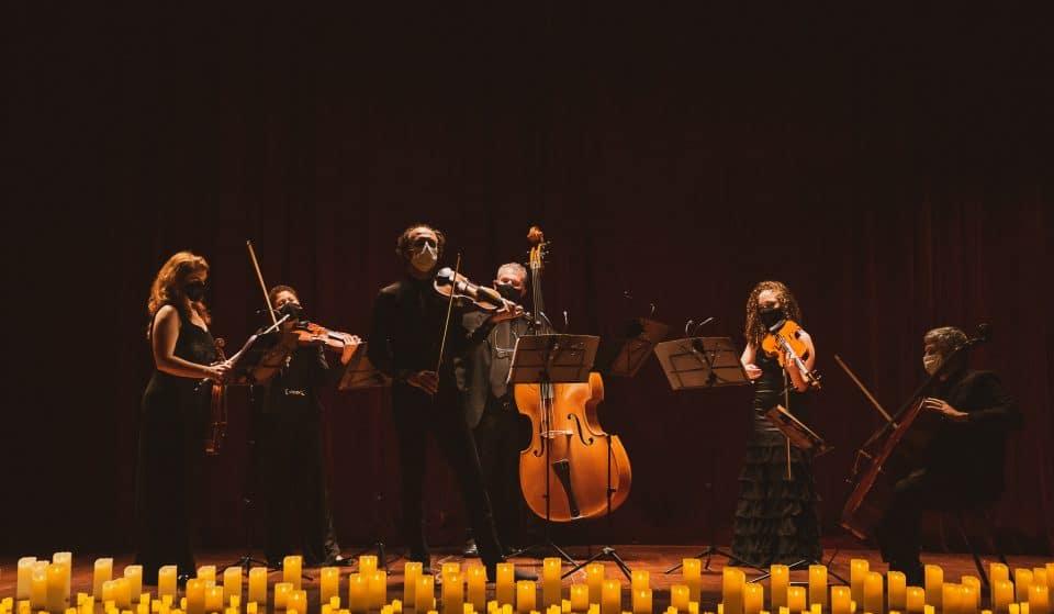 Os concertos Candlelight chegaram a São Paulo