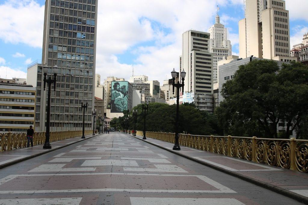 Viaduto Santa Ifigênia centro histórico
