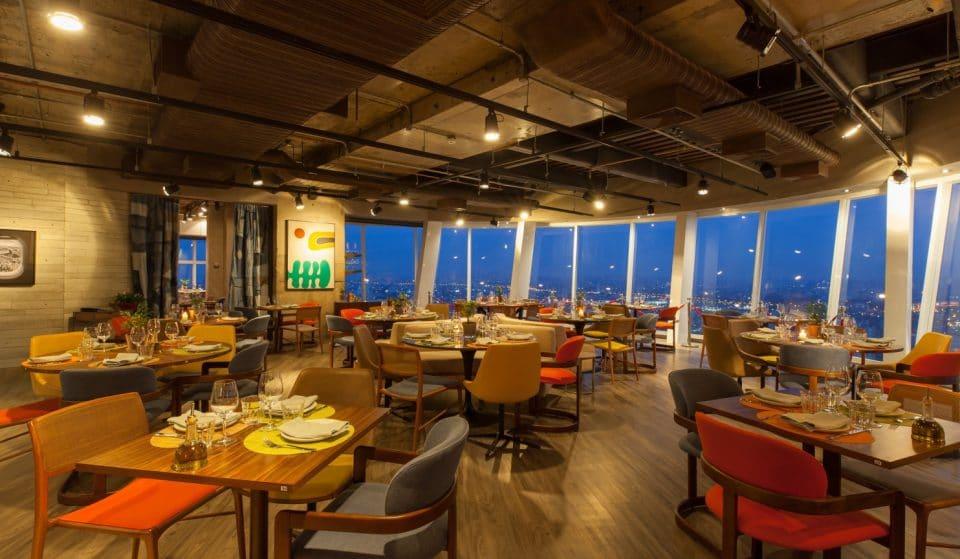 Lassù: restaurante giratório com vista incrível de SP