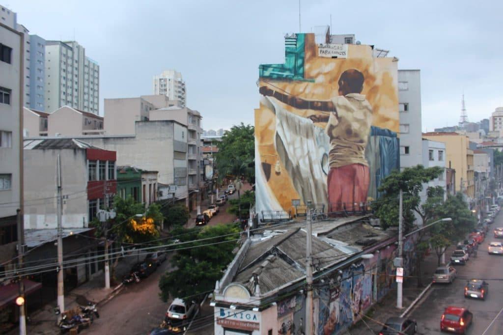 Mural Saracura -Teatro do Incêndio -foto divulgação