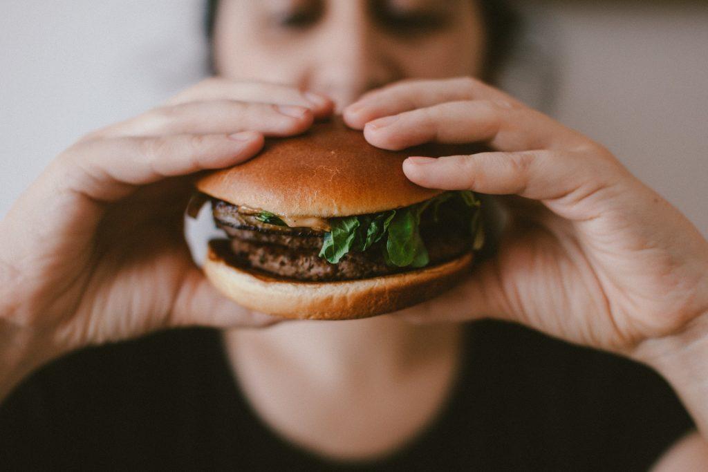 Hero's burger