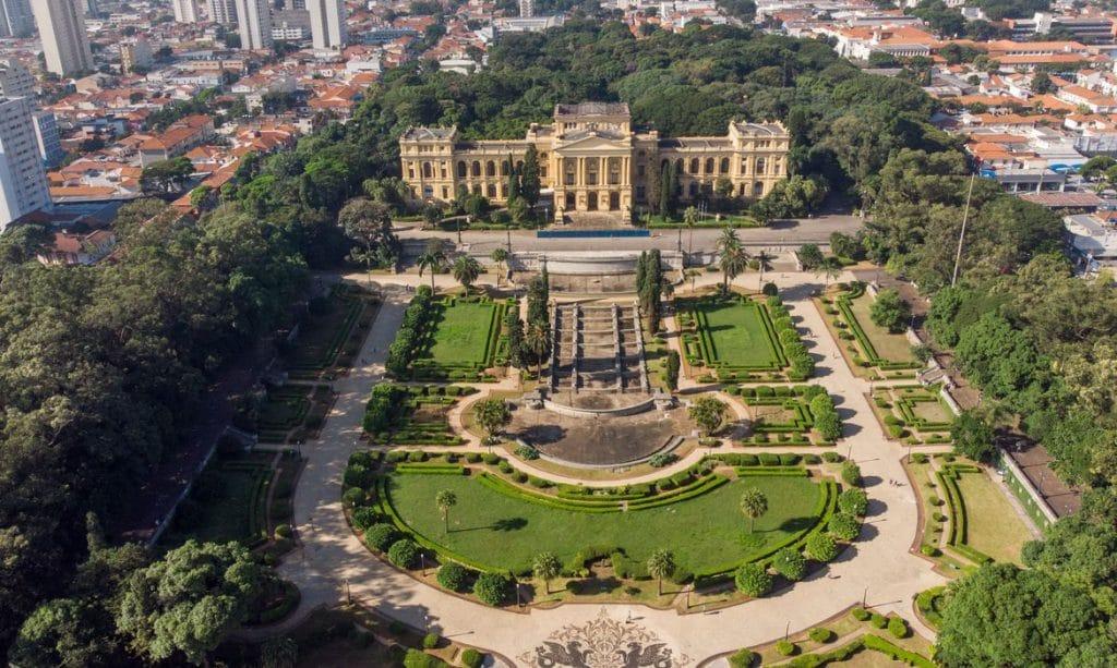 Museu do Ipiranga tour virtual obras
