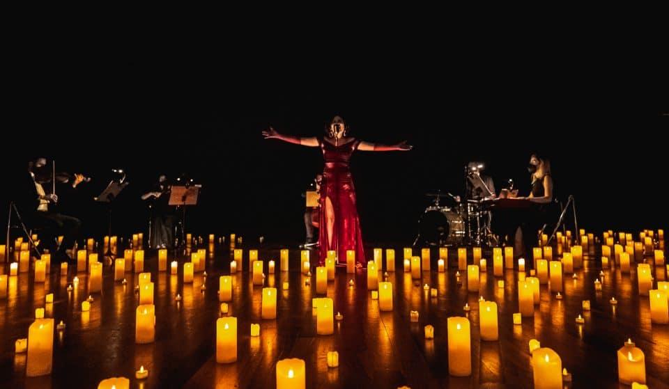 Teatro Bradesco recebe show à luz de velas com hits do Pop e R&B