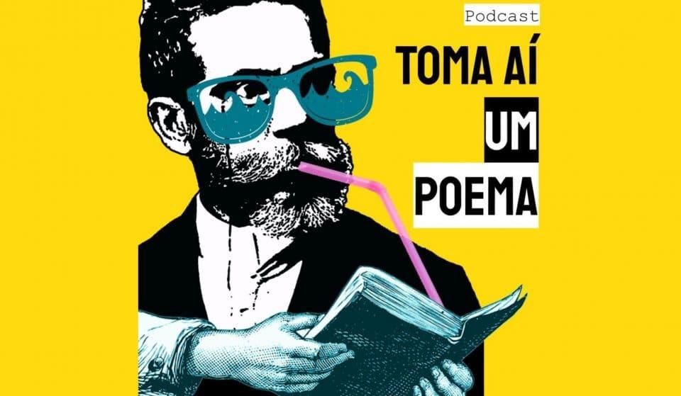 Podcast 'Toma Aí Um Poema' lança revista literária interativa
