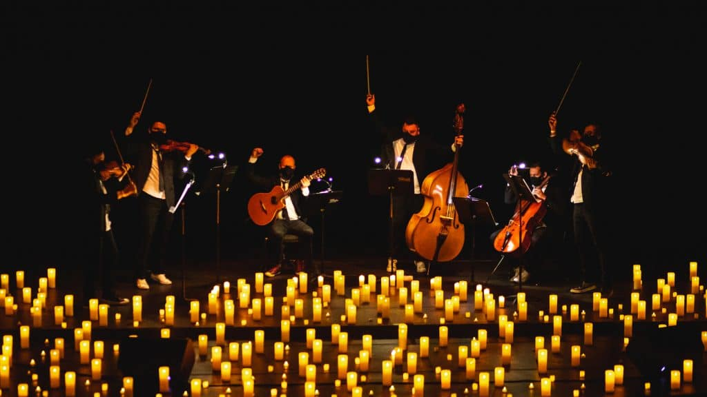 Candlelight rock