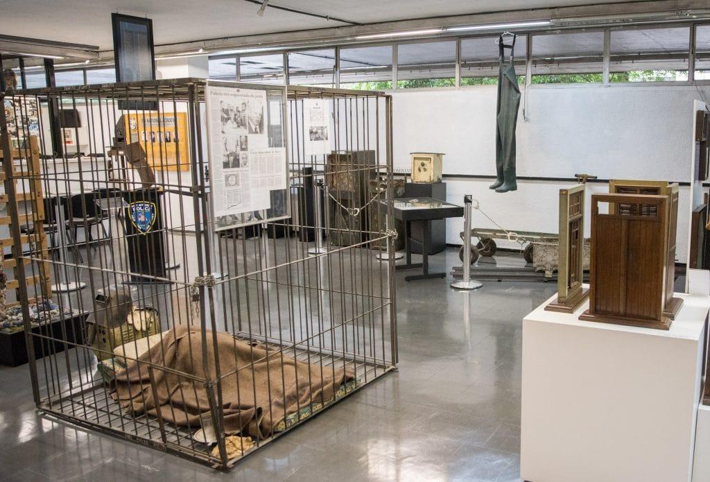 Museu do crime da Polícia Civil