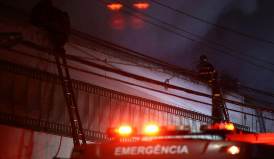 Incêndio atinge galpão da Cinemateca na Vila Leopoldina
