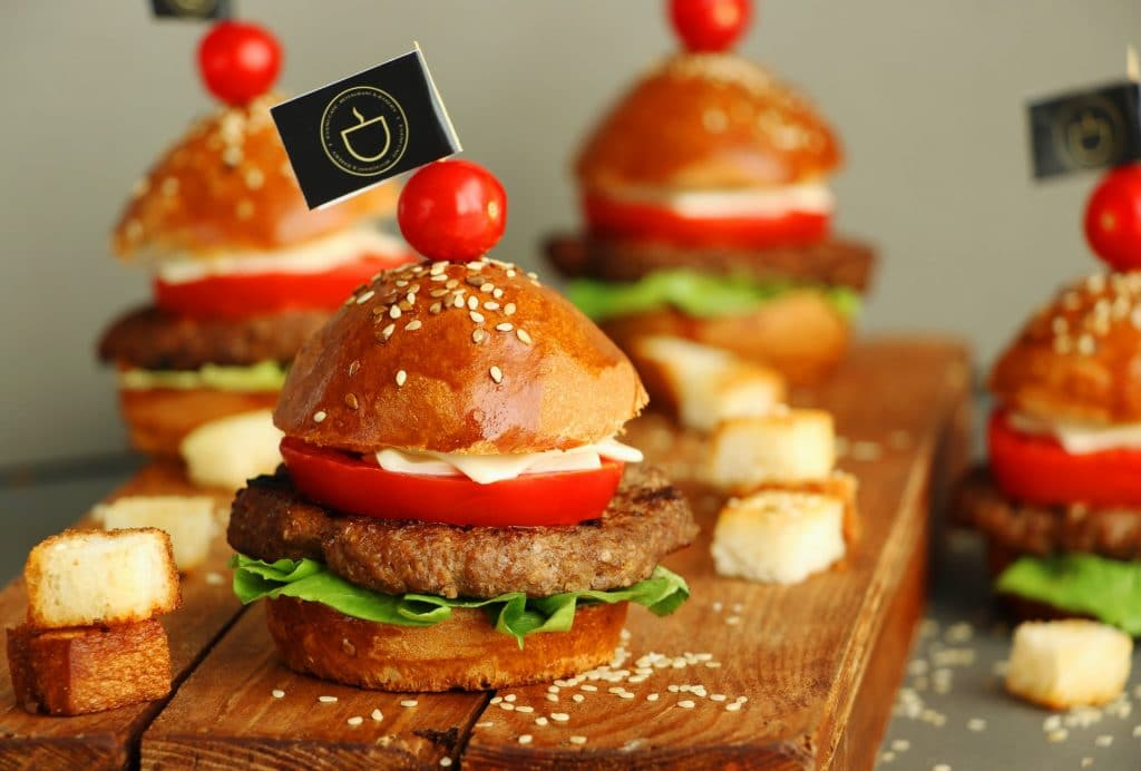 mini hamburguer em são paulo