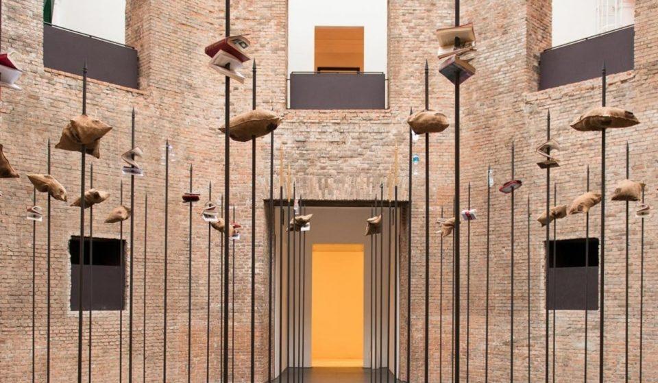 Instalação 'Noite Longa' está em cartaz no octógono da Pinacoteca