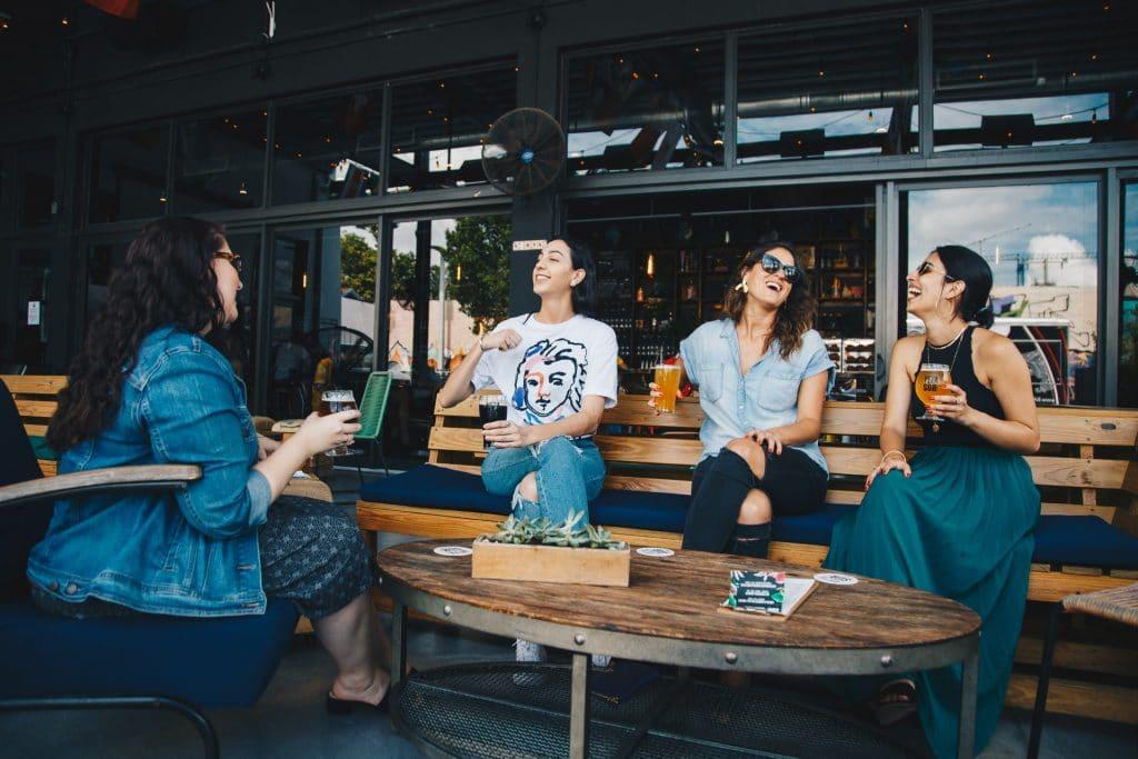 bares e restaurantes com varanda