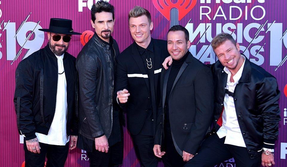 Backstreet Boys anunciam show em São Paulo e internet vai à loucura
