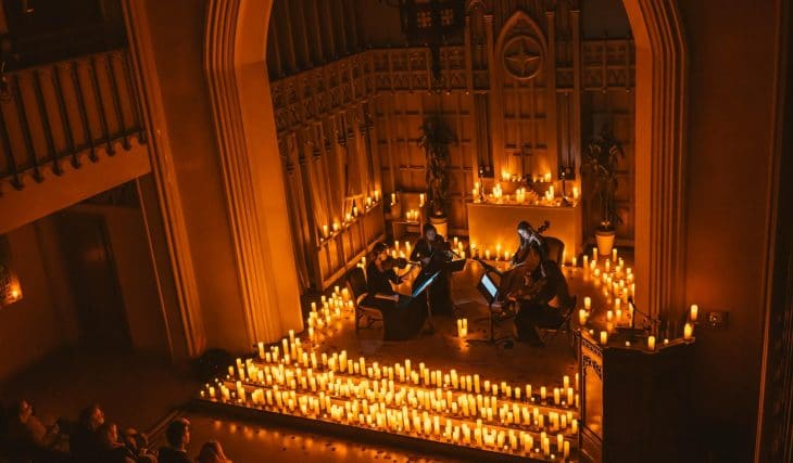 These Gorgeous Classical Candlelight Concerts Have Revealed Their Secret Location