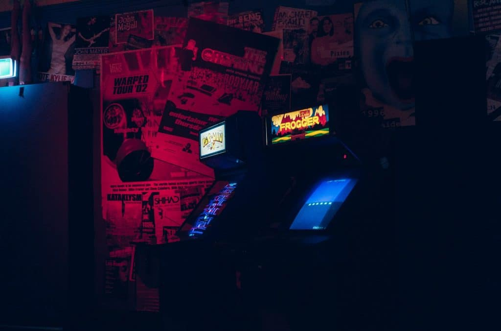 This City Bar Is Going Retro With Neon Lights And 80s Arcade Games · Power Up