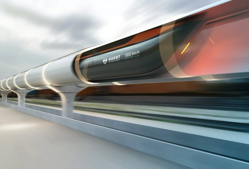 This Super-Fast Train Could Take You From Amsterdam To Paris In Just 90 Minutes