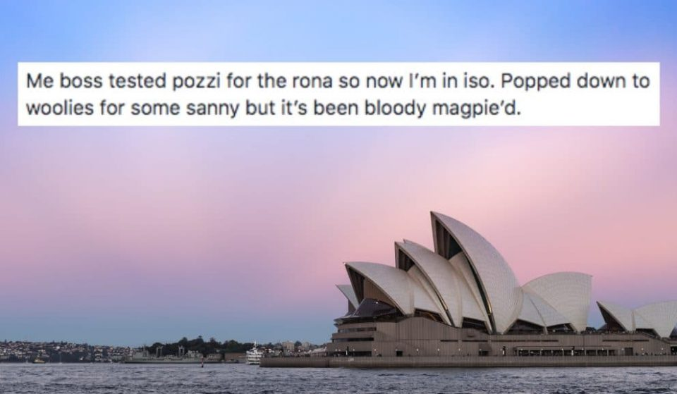 And The 2020 Australian Word Of The Year Goes To …