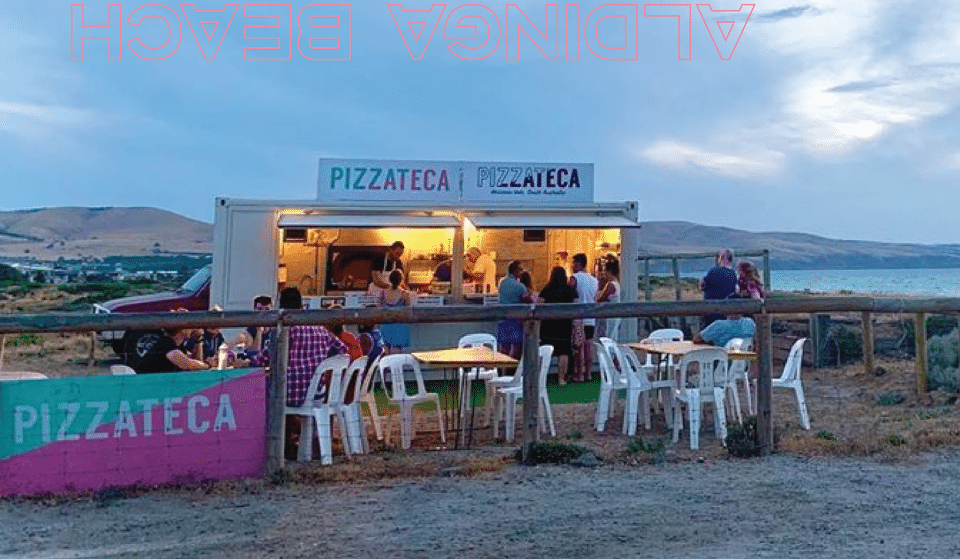 Pizzateca Are Popping Up At Aldinga Beach Again, But This Summer It's A Little Different