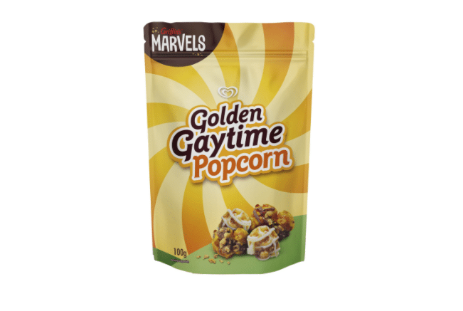 Our Beloved Golden Gaytime Ice Creams Are Now A Popcorn Snack