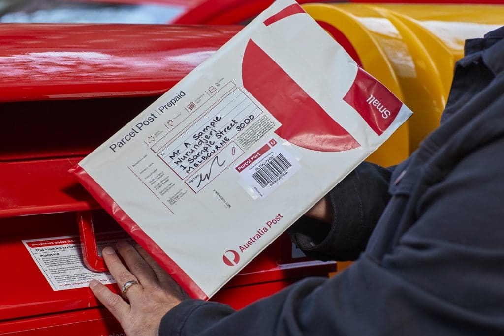 Australia Post Has Created Packaging With Dedicated Space For First Nations Place Names