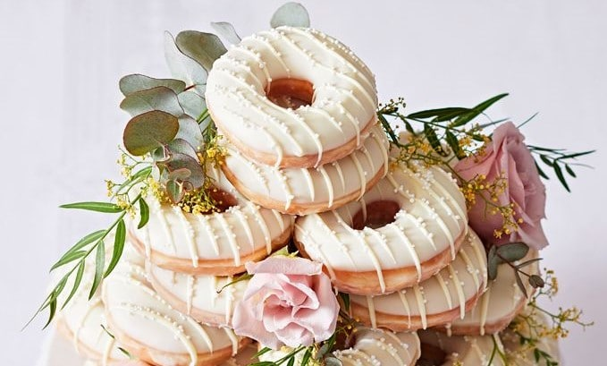"Say ""I Do"" To Krispy Kreme's New Wedding Doughnuts"