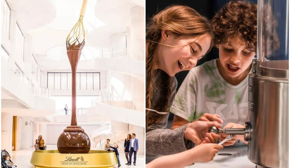 A Huge Chocolate Museum With The World's Biggest Chocolate Fountain Has Opened In Switzerland