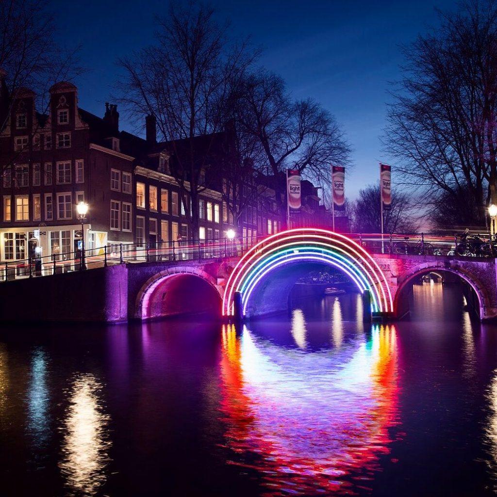 Amsterdam's Famous Light Festival Has Gone Digital For 2020
