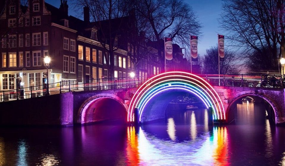Amsterdam's Famous Light Festival Has Gone Digital For 2020
