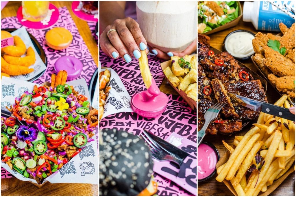 You Can Order Indulgent Vegan Junk Food From This Colourful Joint In Amsterdam