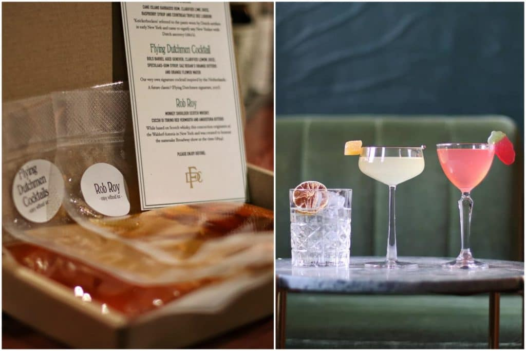 Turn Your Kitchen Into Paradise With Cocktail Deliveries From The Flying Dutchmen