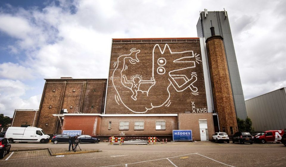 Keith Haring's Famous Mural On The Cold Store Building Is Now A Monument