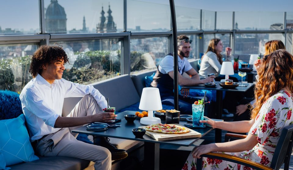 10 Comfortable Rooftop Lounges With Stunning Views In Amsterdam