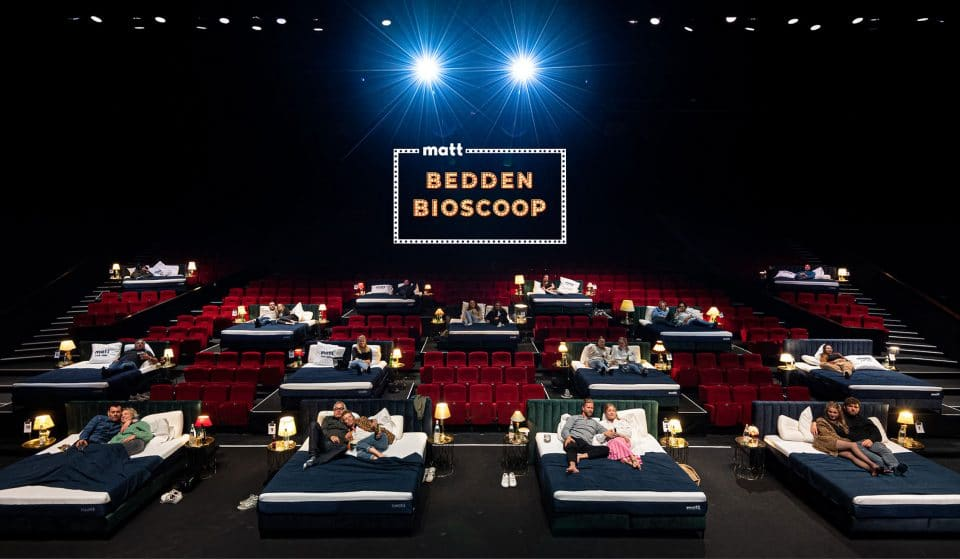 A Comfy Bedside Cinema In Coming To Amsterdam And It's Basically Paradise