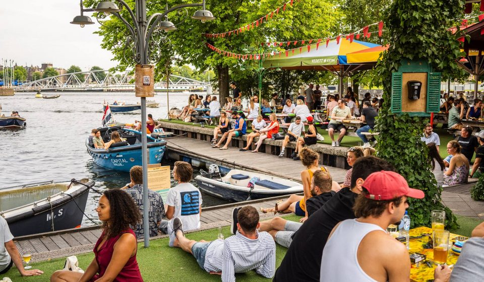 8 Fantastic Waterside Terraces In Amsterdam For Drinks With A View