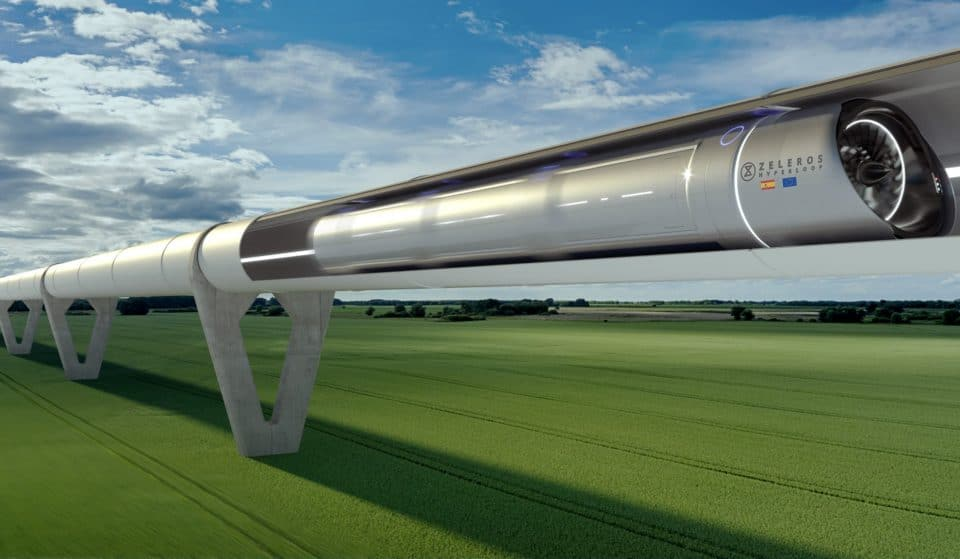 Superspeed Zero Emission Hyperloop Trains Could Soon Connect Europe's Cities
