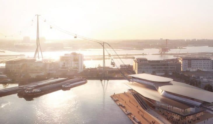 Amsterdam Has Agreed On Construction Of Cable Cars Over The IJ