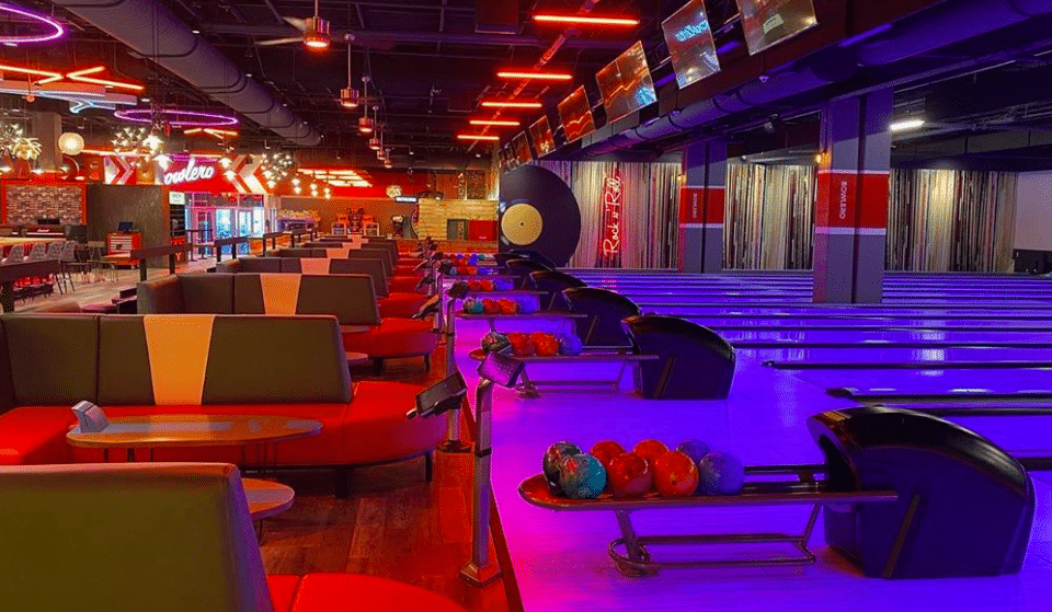 Blacklights, Bowling, And Fish Bowls: Bowlero In Atlanta Is Right Up Your Alley