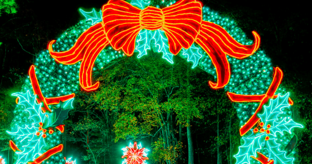 Callaway Gardens' Fantastic Lighting Display Is Now Open For The Holiday Season